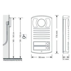 Mere domofona Bticino Linea 2000